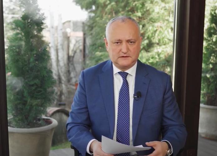 Додон: Нужно сделать всё, чтобы не допустить локдауна в Молдове (ВИДЕО)