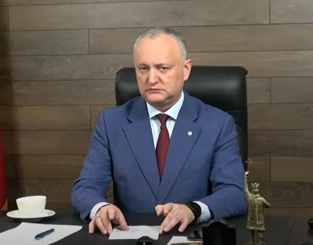 Додон: Нет предпосылок для роспуска парламента