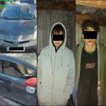 В столице поймали шайку подростков, обокравших несколько авто
