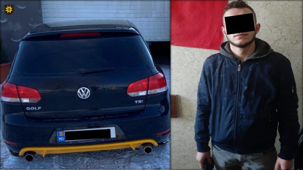 Захотел покататься: злоумышленник угнал машину, но попал в аварию