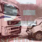 Два человека пострадали в авариях из-за непогоды