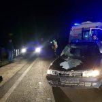 В Страшенах легковушка сбила пешехода: мужчина в больнице
