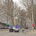 Ещё на двух столичных улицах временно приостановят дорожное движение