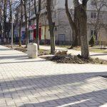 "Тротуар, соединяющий парк ""Алунелул"" с улицей Иона Крянгэ, готов на 70% (ФОТО)"
