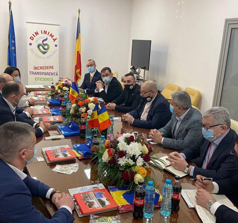 Ион Чебан провёл встречу с примаром пятого сектора Бухареста