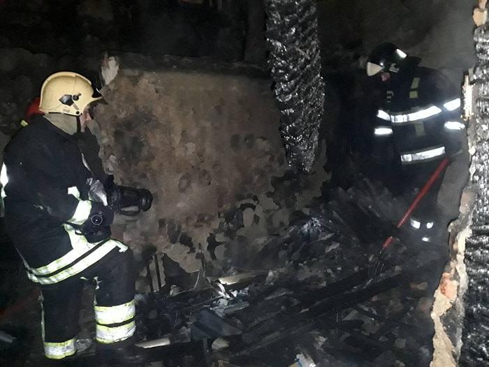 В ГИЧС назвали причину пожара в частном доме на Буюканах