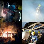 Короткое замыкание стало причиной пожара: в частном доме загорелась летняя кухня