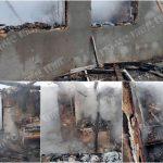 Нарушение правил безопасности при использовании печи стало причиной пожара
