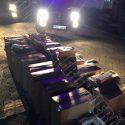 Пограничники конфисковали партию контрабандных сигарет и пестицидов (ВИДЕО)