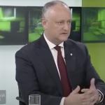 Додон: Мы видим, как Санду «посылает» Россию с разных трибун (ВИДЕО)