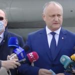 Додон: Надеемся начать в середине мая переговоры о закупке миллиона доз «Спутника» (ВИДЕО)