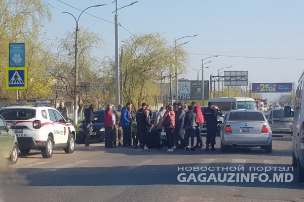 В Комрате на пешеходном переходе машина сбила школьника