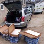 Перевозил десятки тысяч сигарет: на трассе поймали водителя с контрабандой