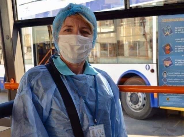 В Кишинёве от коронавируса вакцинируют водителей и кондукторов общественного транспорта