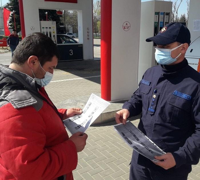 Спасатели продолжают рассказывать гражданам о правилах эксплуатации газа в быту