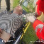 Житель Каушан упал на пику металлического забора