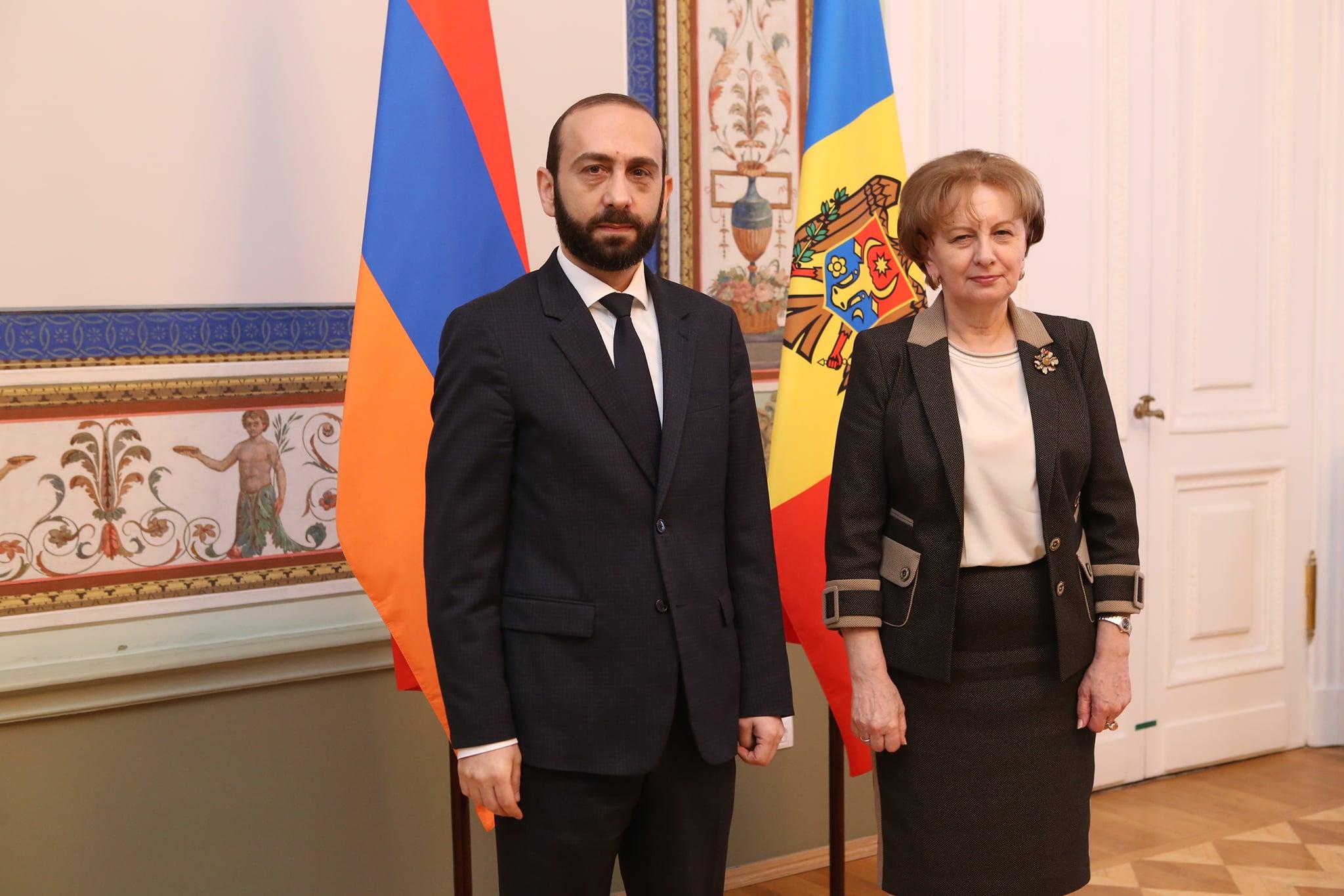 Гречаный: Молдова выступает за продолжение открытого, конструктивного и прагматичного диалога с Арменией