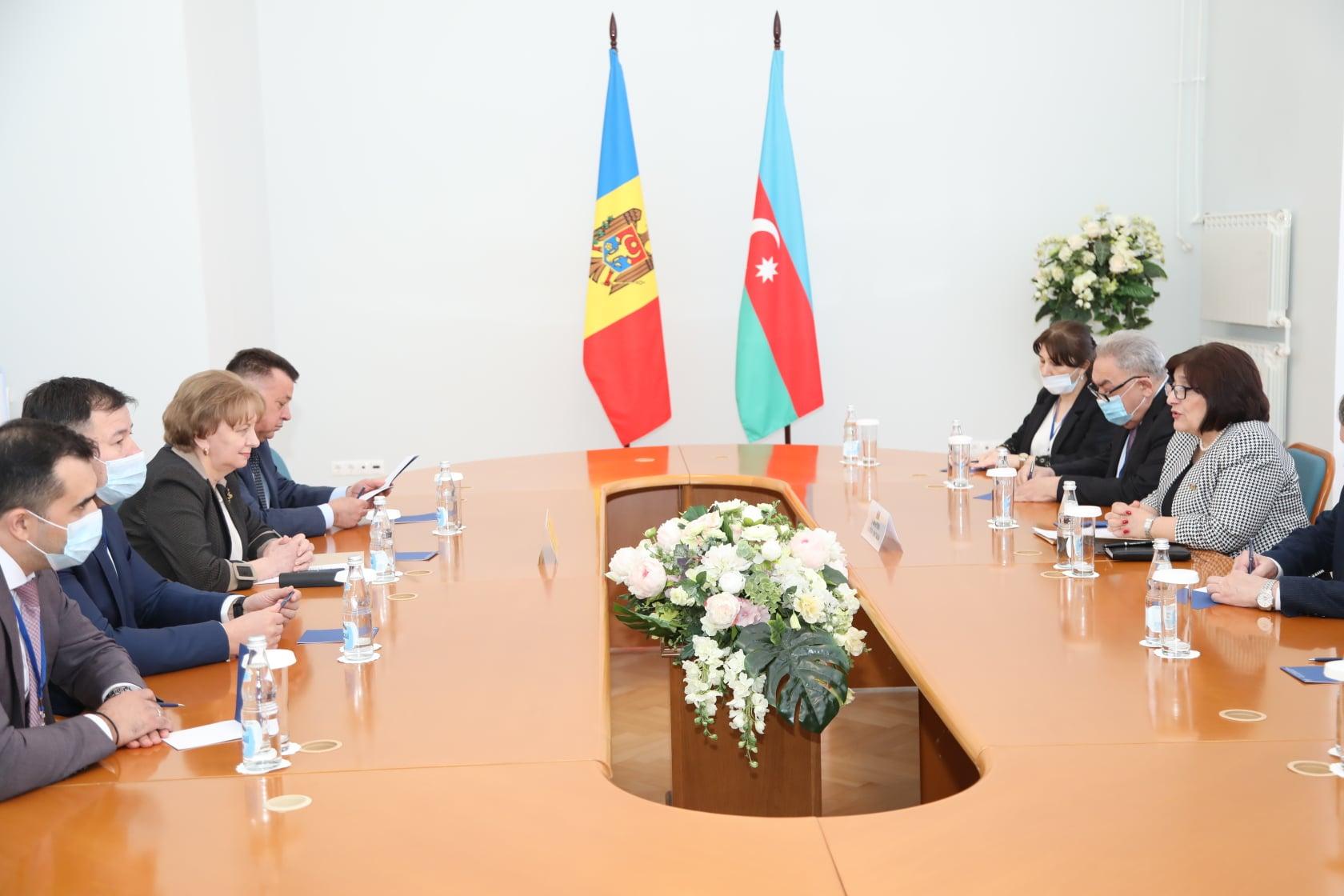 Спикер выступила за интенсификацию отношений с Азербайджаном