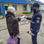 COVID-19 не исчез! Спасатели продолжают информировать граждан о мерах защиты от коронавируса