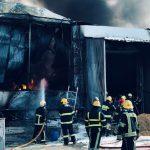 Пожар на складе в Кишинёве: выдвинуты первые версии случившегося