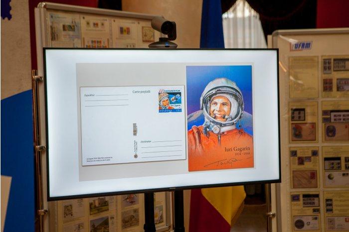 """""""Почта Молдовы"""" ввела в обращение марку, посвящённую Юрию Гагарину"""