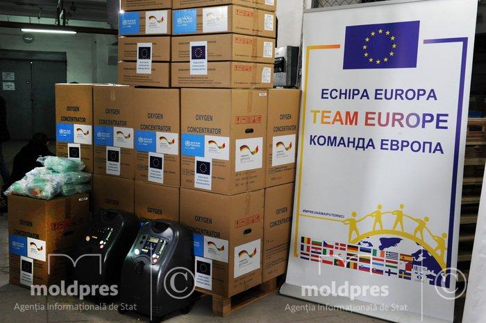 Молдова получила от Германии 300 кислородных концентраторов