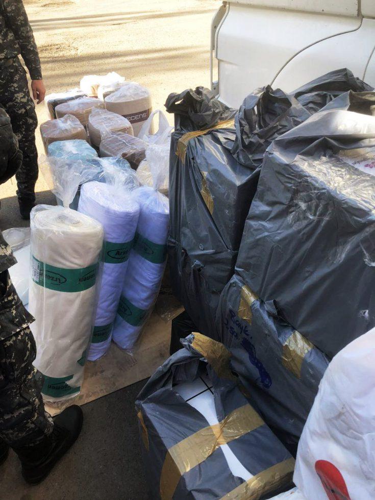 Таможенники перехватили контрабанду на сумму более 700 000 леев (ФОТО, ВИДЕО)