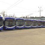 На улицы Кишинёва выпустили ещё 10 новых троллейбусов (ФОТО)