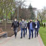Чебан: Мы продолжим инвестировать в модернизацию парков и скверов столицы