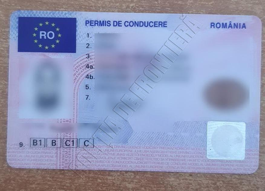 """Молдаванин купил поддельные водительские права за 100 евро. """"Липу"""" обнаружили на границе"""