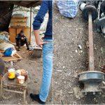 Двое подельников украли металлолом, чтобы продолжить застолье
