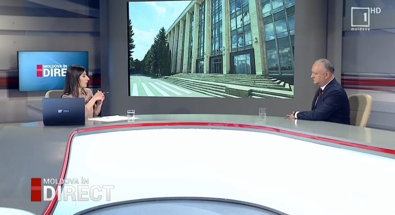Додон: Санду может проводить досрочные выборы в своём кабинете (ВИДЕО)