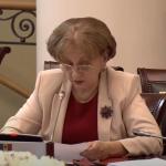 Зинаида Гречаный выступила на открытии 52-го пленарного заседания МПА СНГ (ВИДЕО)