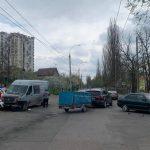 Цепное ДТП вблизи Дурлешт: одному из водителей понадобилась медицинская помощь