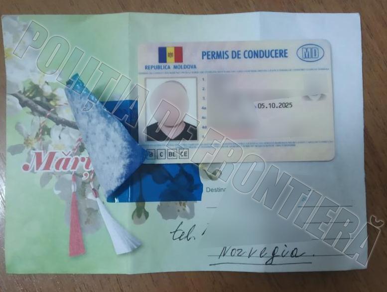 Молдаванин вёз знакомому в Норвегию поддельные права