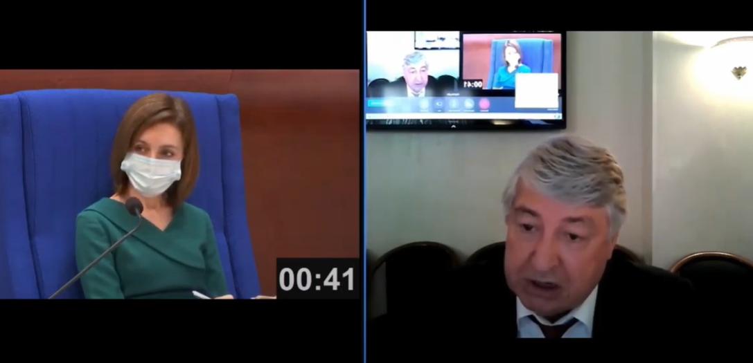 Санду в ПАСЕ задали неудобный вопрос про русский язык в Молдове (ВИДЕО)