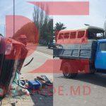 ДТП в Гоянах: столкнулись микроавтобус и грузовик, четыре человека пострадали