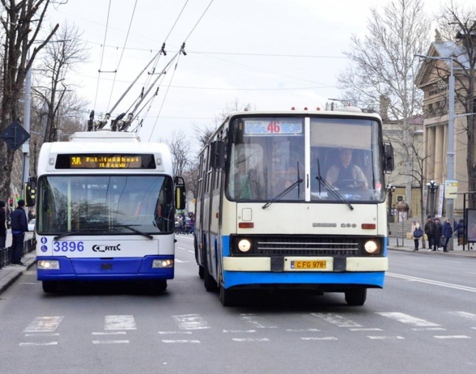 Как будет ездить общественный транспорт в Кишинёве в Пасхальную ночь