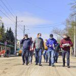 Чебан проверил ход ремонта улицы Иона Крянгэ