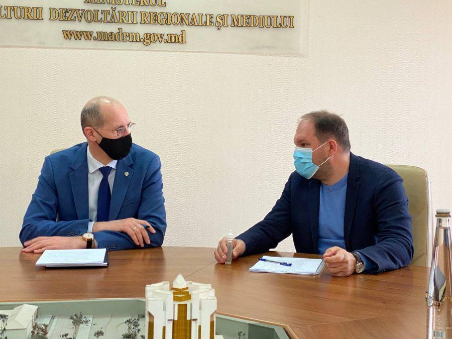 Генпримар обсудил с Ионом Пержу экологические проблемы Кишинёва, требующие срочного решения