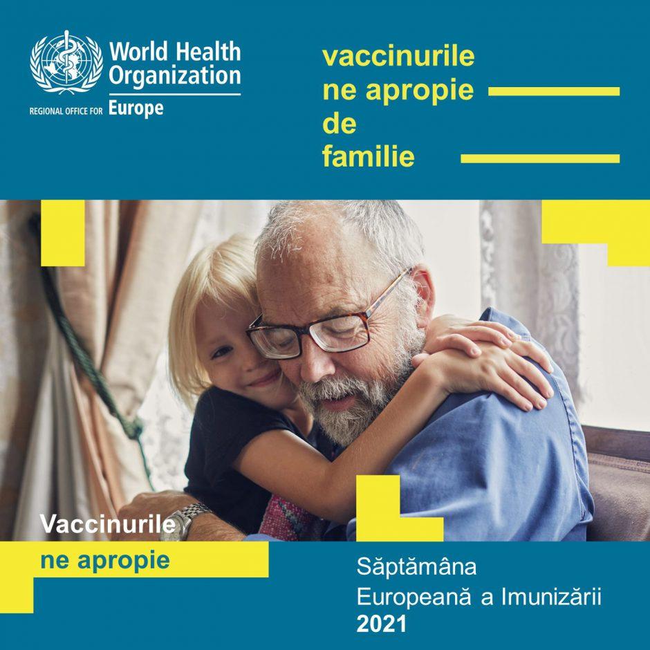 Кишинёв присоединяется к Европейской неделе иммунизации