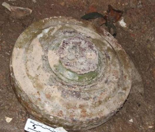В подвале жилого дома в Глодянах нашли противотанковую мину