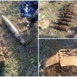 Зазвенел металлоискатель: мужчина наткнулся на арсенал боеприпасов