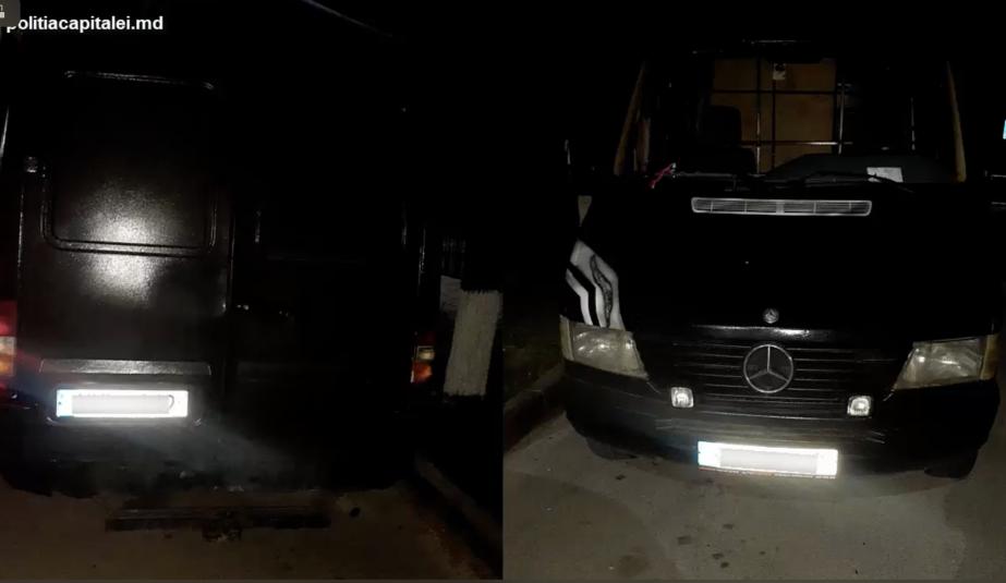 Полицейские задержали мужчину, угнавшего Mercedes со столичной парковки