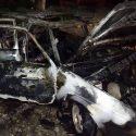 У тираспольчанина сгорело авто, которое пытались угнать