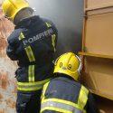 Пожар на рынке в Комрате: загорелись ларьки с товаром