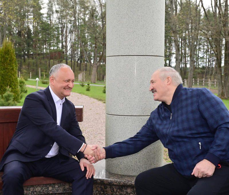 Игорь Додон показал фрагмент своей беседы с Александром Лукашенко (ВИДЕО)