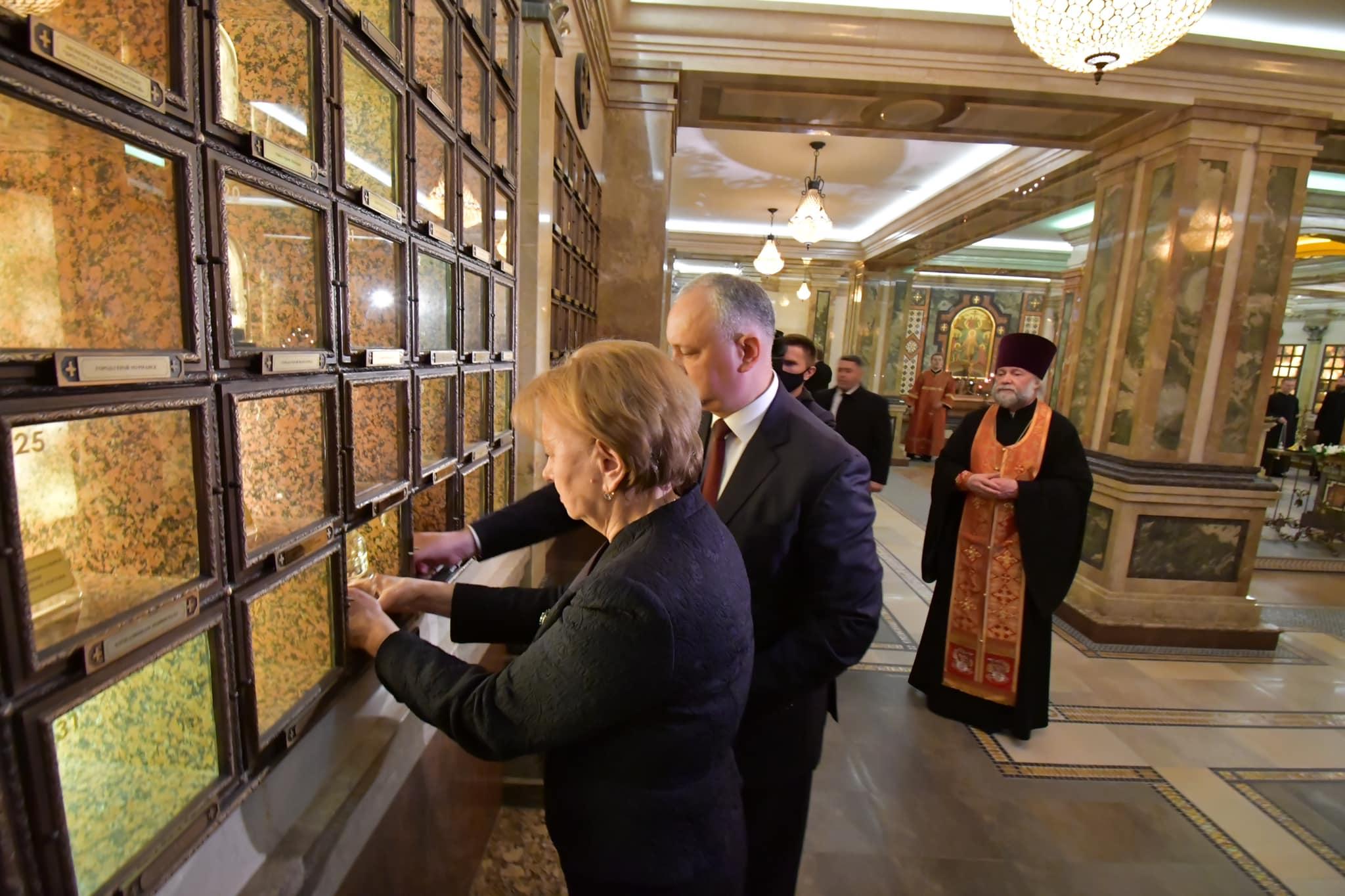 Молдавская делегация посетила знаменитый минский Храм-памятник в честь Всех Святых и в память о жертвах, спасению Отечества нашего послуживших (ФОТО)