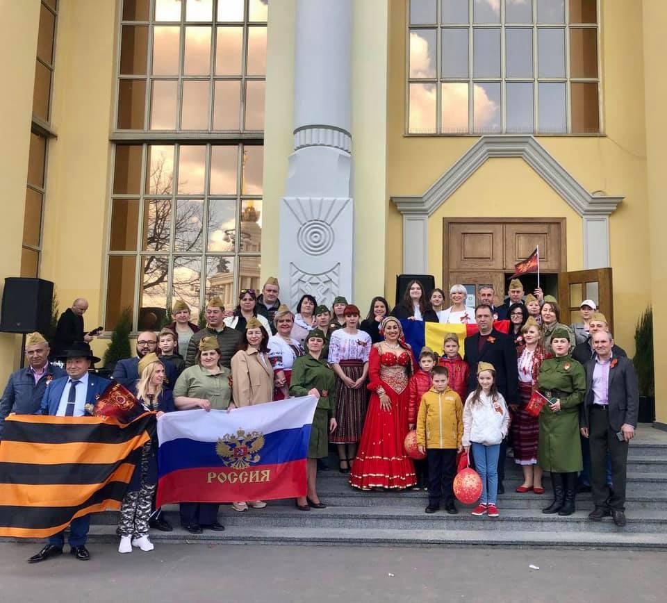 Молдавская диаспора в Москве провела флешмоб «Дорога славы» в память о героях ВОВ (ФОТО)