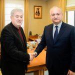 Игорь Додон и Владимир Воронин подписали соглашение о создании предвыборного блока ПСРМ-ПКРМ (ФОТО)